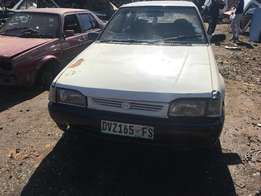 MAZDA 323 1.3 ... stripping for parts.
