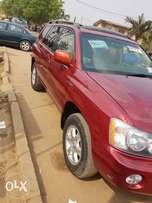 Foreign used superclean highlander available for sale