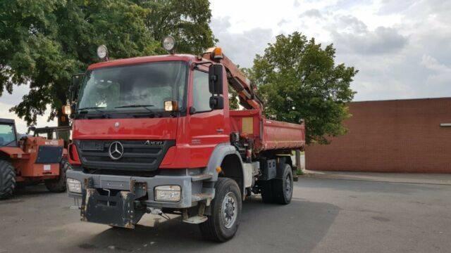 Mercedes-Benz 1833AK Axsor 4x4 Kipper+Kran und Greifer E5 Klim - 2019