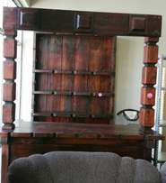 Barcounter with cabinet