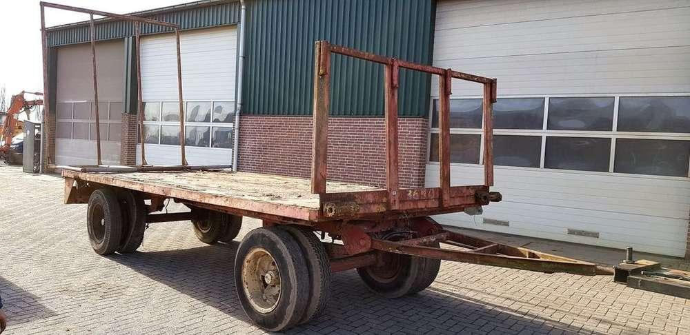 Trailer Platte Balen Wagen Platform