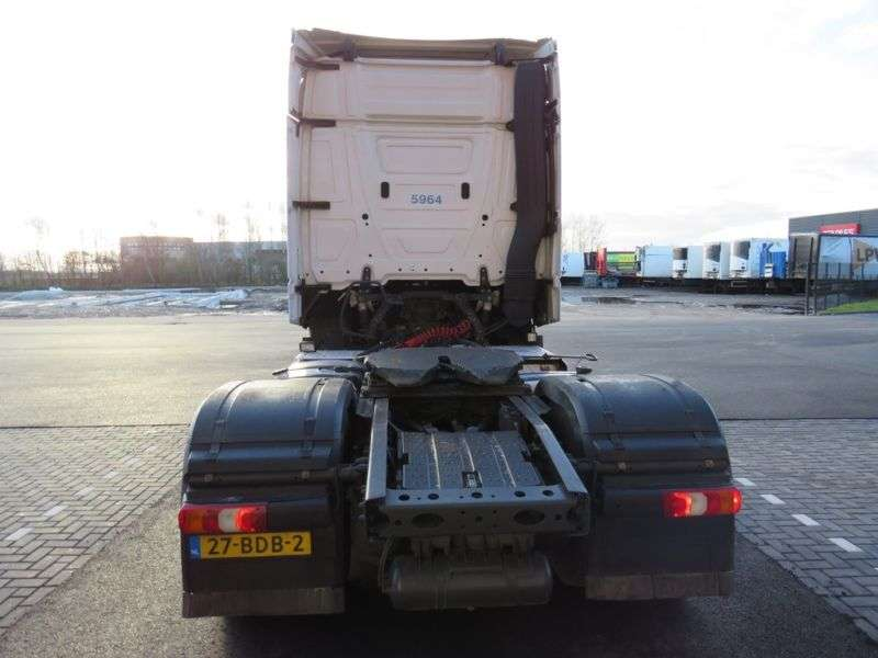 Mercedes-Benz Actros 1845 Bigspace Euro 6 mit hydraulick !!! - 2013 - image 7