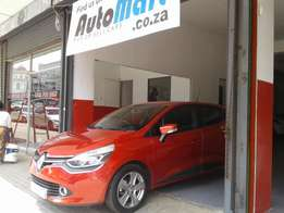 Renault Clio 4 1.6 Automatic Turbo, with 9000Km, With Service Book