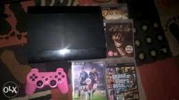 PlayStation 3, Grand theft auto 5, fifa16, God of war, dead Peace