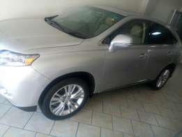 Lexus Rx 450 Hybrid Fully Loaded with Sunroof