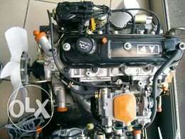 Toyota 4Y engine and a Gearbox