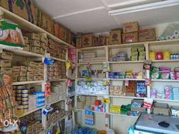 Outlet for sale with groceries & Mpesa