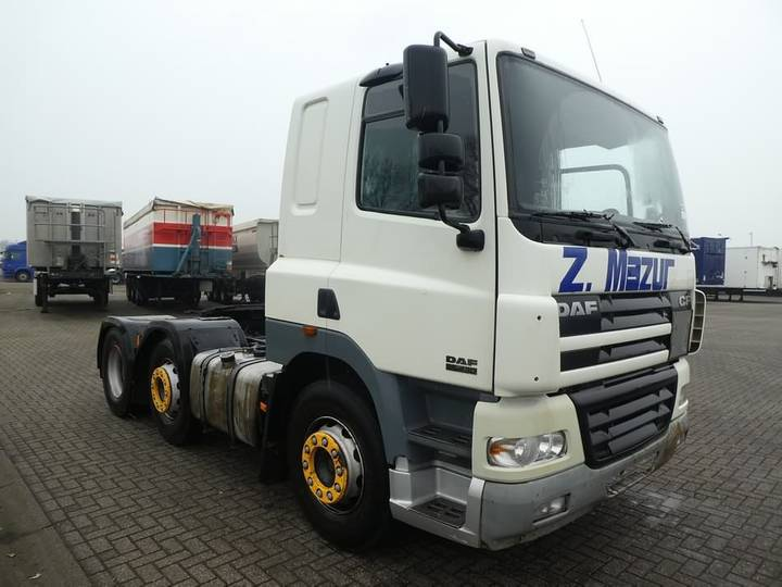 DAF CF 85.430 6x2 ftg manual - 2002