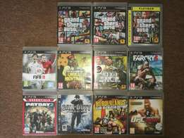 12 PS3 games R200