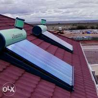 Solar water heater on offer