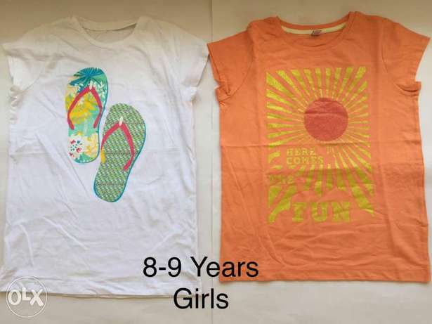 Summer T-Shirts for Boys and Girls Mombasa Island - image 2