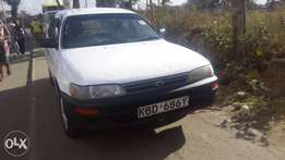 Toyota corolla dx 104 for quick sale