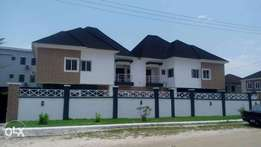 newly built 5 bedroom semi detached duplex for sale