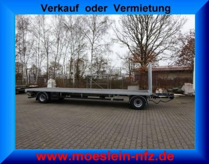 Möslein T 2 Plato 8,6m 2 Achs Jumbo- Plato- Anhänger - 2019