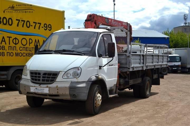 ГАЗ Spectehnika Manipulyator  – 331061 kupit v Moskve flatbed - 2019