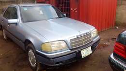 Neatly used C-class 1999