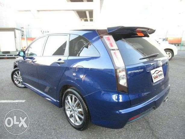 Honda Stream RST blue 2010 model. KCP number Loaded with Alloy rims, Mombasa Island - image 1