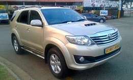 Toyota Fortuner 3.0D-4D 4x4 Ltd edition