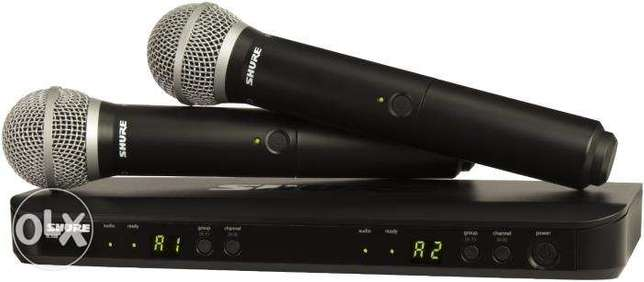 Shure Wireless and wired microphones Lagos - image 4