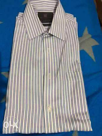 markes and sepncer blue shirt size 15.5 or medium