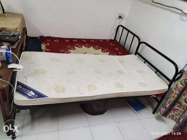 SINGLE BED x2 and 1 single mattress for sale