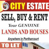 A plot of Land for Sale at Elelewo Portharciourt