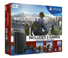 PS4 Watch Dogs 2 Pack With Watch Dogs 2 Physical Game