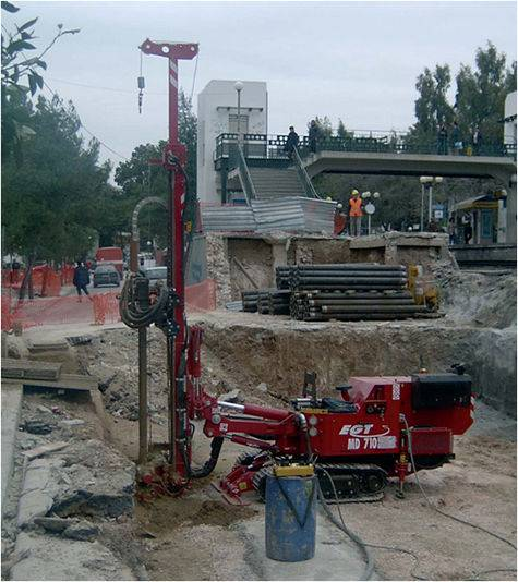 Egt md 700 drilling rig - 2002