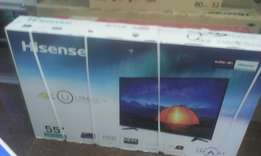 Hisense smart tv 55 inches 4K in my shop