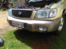 subaru forester 2.0 turbo (M)