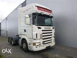 Scania R420 6x2 Single Boogie Retarder Euro 4 - For Import