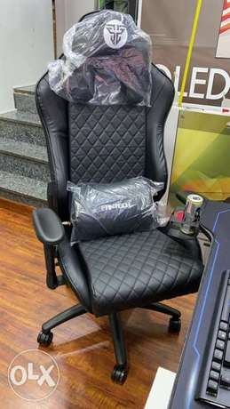 Gaming Chair Black Edition Fantech New