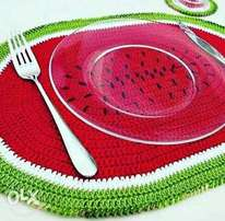 Crocheted Table mats/ Coasters