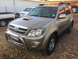 2008 Toyota Fortuner 3.0 D4D 4x4 SUV