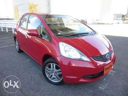 Honda Fit Year 2010 Model Automatic Transmission 2WD Red Color