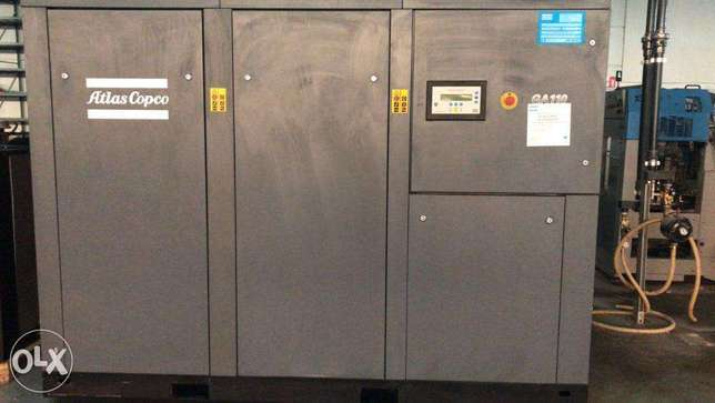 Atlas copco 115KW used as new