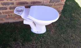 Toilet (without cover for cistern)