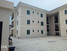 nicely built 9 units of newly built serviced 3 bedroom flat wit bq