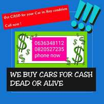we buy cars for cash in any condition