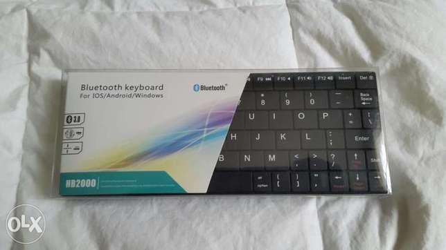 Universal Wireless Bluetooth Keyboard 4 Windows Android, iOS System,PC City Centre - image 1