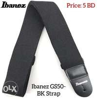 New arrival Ibanez GS50-BK Strap available in stock.