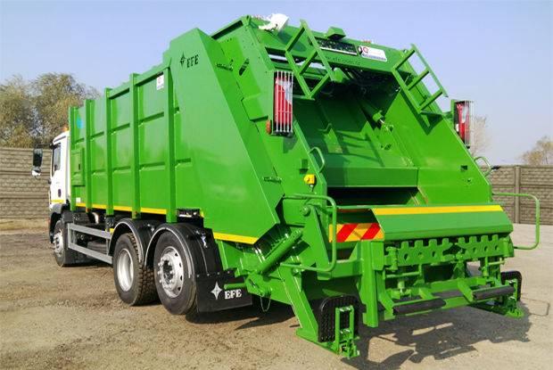 COMPACTOARE clasica de capacitate mare garbage truck