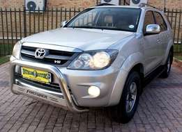 2008 TOYOTA Fortuner 4.0 V6 A/T 4X4