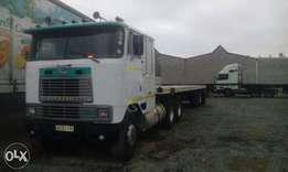 International horse and tri axle trailer for sale or swop.