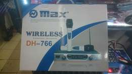 Wireless microphone Max dh 766