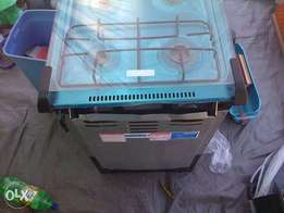 gas stove with out oven door