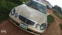 Clean Mercedes-Benz E320