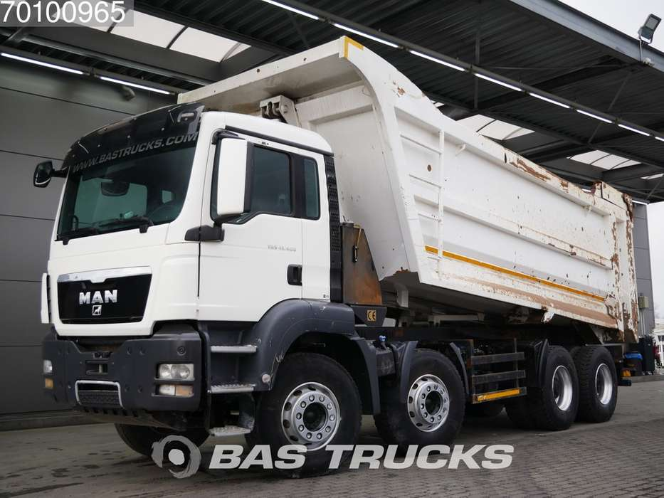 TGS 41.400 M 8X4 27m3 Euro 5 Manual Big-Axle Steelsuspension - 2015
