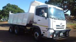 Nissan UD 460 10 Cubic Tipper ZF Water vvv