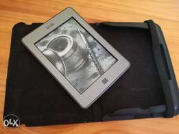 Beautiful Kindle Touch with black case